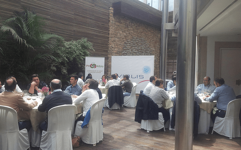 Patrocinio del Grupo PH-Albio en la I Jornada Técnica de Cunicultura de Evialis